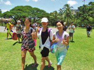 ハワイ留学